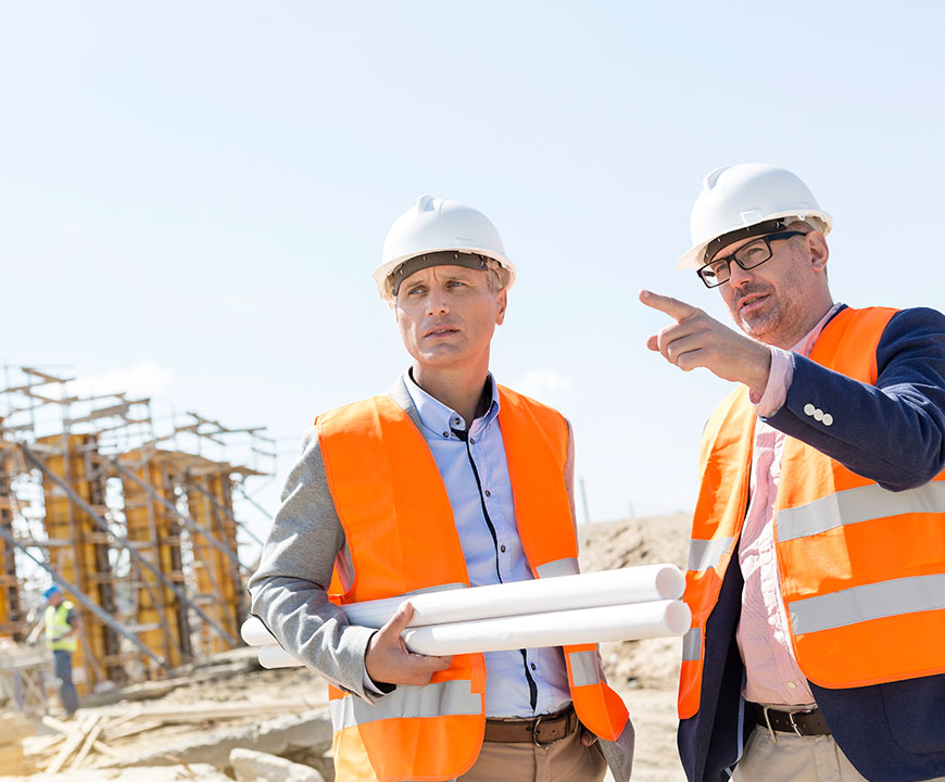 Men on Worksite with Business Insurance in Santa Maria, CA